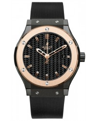 Hublot Classic Fusion 42MM  Automatic Certified Men's Watch, Ceramic, Black Dial, 542.CP.1780.RX