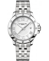 Raymond Weil Tango  Quartz Men's Watch, Stainless Steel, White Dial, 5599-ST-00308