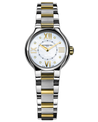 Raymond Weil Noemia  Quartz Women's Watch, Stainless Steel, White Dial, 5927-STP-00995