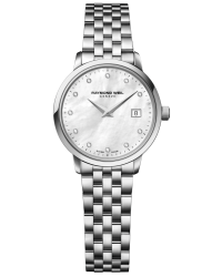 Raymond Weil Toccata  Quartz Women's Watch, Stainless Steel, Mother Of Pearl Dial, 5988-ST-97081