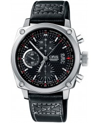 Oris BC4  Automatic Men's Watch, Stainless Steel, Black Dial, 674-7616-4154-07