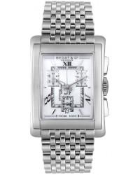 Bedat No 7  Quartz Men's Watch, Stainless Steel, White Dial, 778.010.111