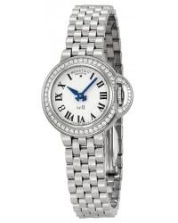 Bedat No 8  Quartz Women's Watch, Stainless Steel, Silver Dial, 827.041.600