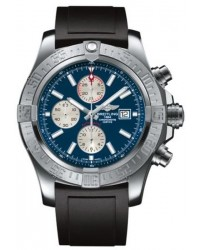Breitling Super Avenger II  Automatic Men's Watch, Stainless Steel, Blue Dial, A1337111.C871.135S