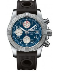 Breitling Avenger II  Automatic Men's Watch, Stainless Steel, Blue Dial, A1338111.C870.200S