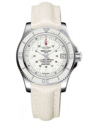 Breitling Superocean II 36  Automatic Men's Watch, Stainless Steel, White Dial, A17312D2.A775.262X