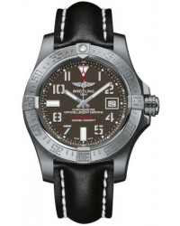 Breitling Avenger II Seawolf  Automatic Men's Watch, Stainless Steel, Gray Dial, A1733110.F563.436X