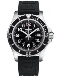 Breitling Superocean II 44  Automatic Men's Watch, Stainless Steel, Black Dial, A17392D7.BD68.153S