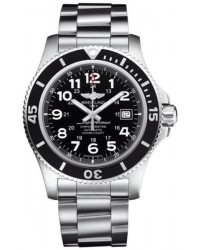 Breitling Superocean II 44  Automatic Men's Watch, Stainless Steel, Black Dial, A17392D7.BD68.162A