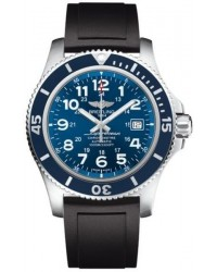 Breitling Superocean II 44  Automatic Men's Watch, Stainless Steel, Blue Dial, A17392D8.C910.131S