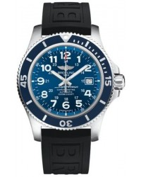 Breitling Superocean II 44  Automatic Men's Watch, Stainless Steel, Blue Dial, A17392D8.C910.152S