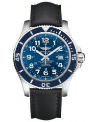 Breitling Superocean II 44  Automatic Men's Watch, Stainless Steel, Blue Dial, A17392D8.C910.226X