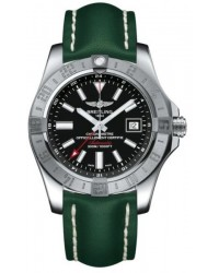 Breitling Avenger II GMT  Automatic Men's Watch, Stainless Steel, Black Dial, A3239011.BC35.189X