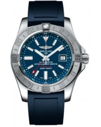 Breitling Avenger II GMT  Automatic Men's Watch, Stainless Steel, Blue Dial, A3239011.C872.143S