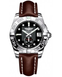 Breitling Galactic 36 Automatic  Automatic Unisex Watch, Stainless Steel, Black & Diamonds Dial, A3733012.BD02.416X