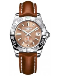 Breitling Galactic 36 Automatic  Automatic Unisex Watch, Stainless Steel, Bronze Dial, A3733012.Q582.412X