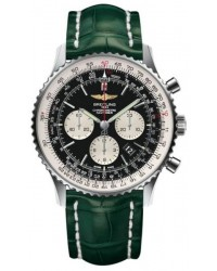 Breitling Navitimer 01  Automatic Men's Watch, Stainless Steel, Black Dial, AB012721.BD09.752P