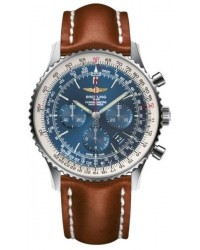 Breitling Navitimer 01  Automatic Men's Watch, Stainless Steel, Blue Dial, AB012721.C889.440X