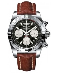 Breitling Chronomat 41  Automatic Men's Watch, Stainless Steel, Black Dial, AB014012.BA52.248X
