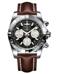 Breitling Chronomat 41  Automatic Men's Watch, Stainless Steel, Black Dial, AB014012.BA52.432X