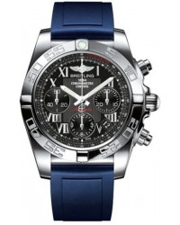 Breitling Chronomat 41  Automatic Men's Watch, Stainless Steel, Black Dial, AB014012.BC04.142S