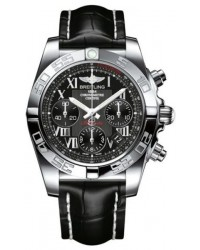 Breitling Chronomat 41  Automatic Men's Watch, Stainless Steel, Black Dial, AB014012.BC04.728P