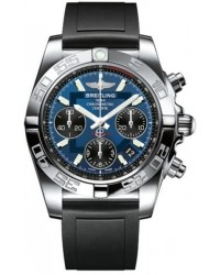 Breitling Chronomat 41  Automatic Men's Watch, Stainless Steel, Blue Dial, AB014012.C830.136S
