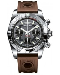 Breitling Chronomat 41  Automatic Men's Watch, Stainless Steel, Gray Dial, AB014012.F554.204S