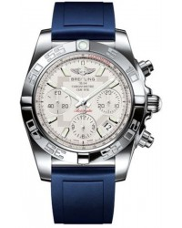 Breitling Chronomat 41  Automatic Men's Watch, Stainless Steel, Silver Dial, AB014012.G711.138S