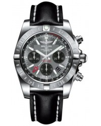 Breitling Chronomat 44 GMT  Automatic Men's Watch, Stainless Steel, Gray Dial, AB042011.F561.436X