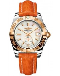 Breitling Galactic 36 Automatic  Automatic Unisex Watch, Stainless Steel & Rose Gold, Mother Of Pearl Dial, C3733012.A724.257X