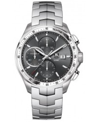 Tag Heuer Link  Chronograph Automatic Men's Watch, Stainless Steel, Black Dial, CAT2017.BA0952