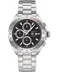 Tag Heuer Formula 1  Chronograph Quartz Men's Watch, Stainless Steel, Black Dial, CAZ2010.BA0876