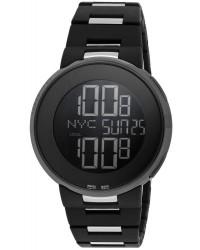 Gucci i-Gucci  Digital Men's Watch, PVD Black Steel, Black Dial, YA114205