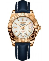 Breitling Galactic 36 Automatic  Automatic Unisex Watch, 18K Rose Gold, Mother Of Pearl Dial, H3733012.A724.199X