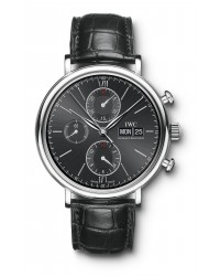 IWC Portofino  Chronograph Automatic Men's Watch, Stainless Steel, Grey Dial, IW391008