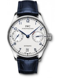 IWC Portuguese  Automatic Men's Watch, Stainless Steel, White Dial, IW500107