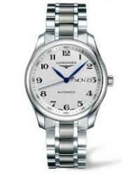 Longines Master  Automatic Men's Watch, Stainless Steel, Silver Dial, L2.755.4.78.6