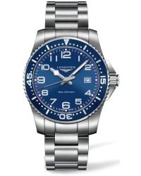 Longines HydroConquest  Quartz Men's Watch, Stainless Steel, Blue Dial, L3.689.4.03.6