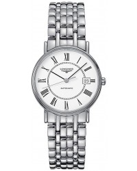 Longines La Grande Classique  Automatic Women's Watch, Stainless Steel, White Dial, L4.821.4.11.6