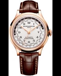Baume & Mercier Capeland  Automatic Men's Watch, 18K Rose Gold, Silver Dial, MOA10107