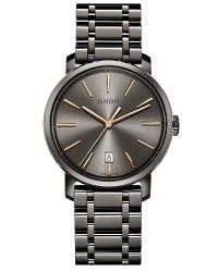 Rado Diamaster  Quartz Unisex Watch, Ceramic, Grey Dial, R14072137