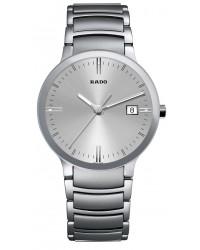 Rado Centrix  Quartz Unisex Watch, Stainless Steel, Silver Dial, R30927103