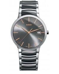 Rado Centrix  Quartz Unisex Watch, Stainless Steel, Grey Dial, R30927132