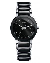 Rado Centrix  Quartz Women's Watch, Stainless Steel, Black Dial, R30935162