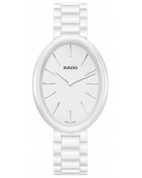Rado Esenza  Quartz Women's Watch, Ceramic, White Dial, R53092012