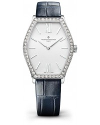 Vacheron Constantin Malte  Quartz Women's Watch, 18K White Gold, Silver Dial, 25530/000G-9741