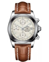 Breitling Galactic 41  Automatic Men's Watch, Stainless Steel, White Dial, W1331012.A774.722P
