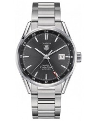 Tag Heuer Carrera  Automatic Men's Watch, Stainless Steel, Black Dial, WAR2012.BA0723