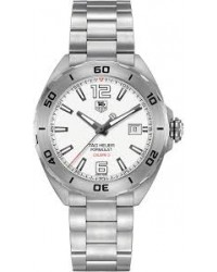 Tag Heuer Formula 1  Automatic Men's Watch, Stainless Steel, White Dial, WAZ2114.BA0875